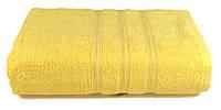 Полотенце махровое Индия 68х128 свет.жёлтое 400 г/м²