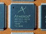 Atheros AR7241-AH1A LQFP128 - Ethernet LAN процессор (Ubiquiti), фото 2