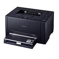 Принтер лазерный цветной A4 Canon LBP-7018C (4896B004), Black, 600x600 dpi, до 16(4) стр/мин, USB (картриджи Canon 729)