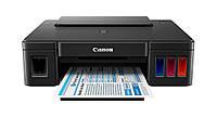 Принтер струйный цветной A4 Canon G1400 (0629C009), Black, 4800x1200 dpi, до 8.8/5 стр/мин, USB, встроенное СНПЧ по 70 мл (чернила GI-490)