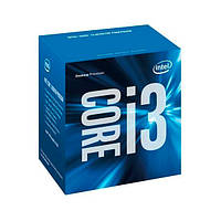 Процессор Intel Core i3 (LGA1151) i3-6300, Box, 2x3,8 GHz, HD Graphic 530 (1150 MHz), L3 4Mb, Skylake, 14 nm, TDP 51W (BX80662I36300)