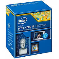 Процессор Intel Core i5 (LGA1150) i5-4460, Box, 4x3,2 GHz, HD Graphic 4600 (1100 MHz), L3 6Mb, Haswell, 22 nm, TDP 84W (BX80646I54460)