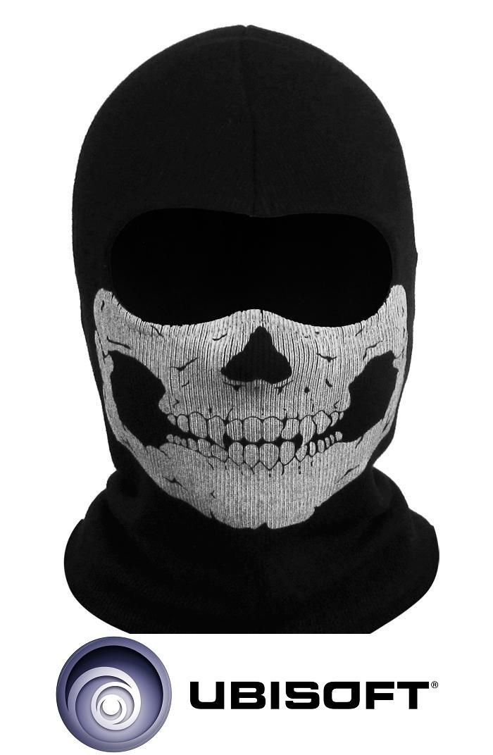 """Тактическая военная маска-балаклава призрак Call of Duty """"Ghosts"""" #09"""