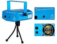 Отличный проектор, стробоскоп,лазер диско,ШОУ! Высокое качество. Портативный проектор. Лазерный. Код: КДН1483