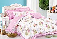 Постельное белье в детскую кроватку Love you CR-17084 Детский комплект