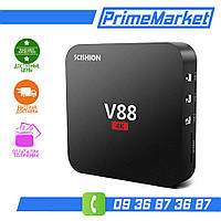 Андроид ТВ SCISHION V88 Mini TV Box Android Смарт ТВ WiFi Аналог MXQ