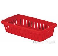 Новая Корзина К-1 14117  цвет красный