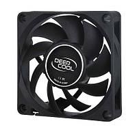 Вентилятор 40 mm Deepcool XFAN 40 черный лак, 40x40х10мм HB 4500 об/мин 24.3 дБ