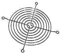 Решетка для вентиляторов 120mm, Merlion Silver