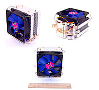 Вентилятор CPU ATcool Aero X2 ball bearing (2 медных трубки) s1155/1156/775/FM1/AM2/AM3