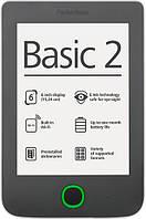 """Электронная книга 6"""" PocketBOOK 614 Basic 2 серый (PB614-Y-CIS) E-Ink Pearl, 800x600, 166 dpi, 4 ГБ, microSD, 1 ГГц, 256 МБ, 1300 мАч"""