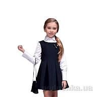 Блузка для девочки Purpurino 262210 белая 116