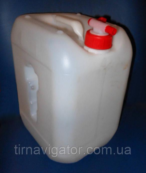 Бачок для питьевой воды 10л. с краником на кришке (пластик)