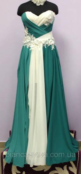 Платье вечернее  Яблоневый цвет