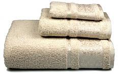 Полотенце махровое Bamboo 50х90 бежевое 500 г/м²