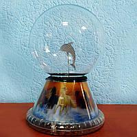 """Шар молния """"Дельфин"""" 12 см, Plasma light N5-3D"""