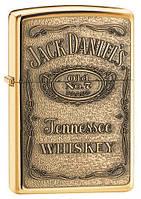 Зажигалка Zippo Jack Daniels Pewter Emblem
