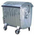 Мусорные баки на колесах; мусорный бак металлический