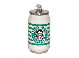 Термокружка Starbucks з нержавіючої сталі 300 мл T73, термокружка банку старбакс