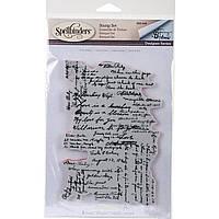 Штампы резиновые Spellbinders - Stamps - Tammy Tutterow Designs - Dear Ruby SBS-048
