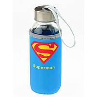 """Бутылка с чехлом """"Супергерой"""", в ассортименте"""