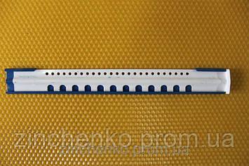 Летковый заградитель 2-Х элементный из эмалированой стали, длина -250 мм (213132783)