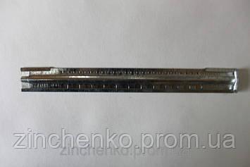 Летковый заградитель 2-Х элементный оцинкованный, с отверстиями, длина -250 мм
