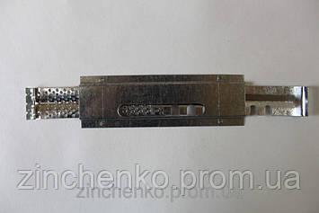 Летковый заградитель 3-х элементный верхний оцинкованный, длина 145 мм