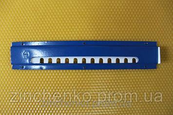 Леток для ульев 2-х элементный нижний из эмалированой стали, длина 250 мм