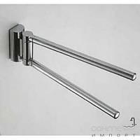 Аксессуары для ванной комнаты Colombo Design Держатель для полотенец - двойной, 40 см Colombo Luna B0112
