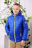 Демисезоння Куртка для мальчика «Монклер-6», 116-146 рост