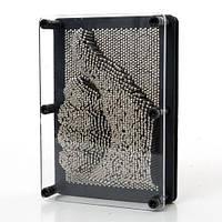 Сyвeнир Пин арт Гвоздики 3D, pin art 3d, экспресс-скульптор Гвозди ART-PIN, средние