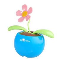 "Сувенир ""Танцующий цветок Flip-Flap"" на солнечных батареях"
