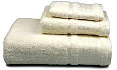 Полотенце махровое Bamboo 70х140 кремовое 500 г/м²