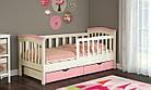 Детская кровать для девочки от 3 лет с бортиками Конфетти, фото 6
