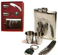 Набор с флягой (Jim Beam) подарочная упаковка