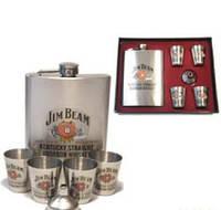 Набор с флягой подарочный (Jim Beam)