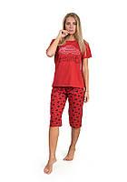Пижама с короткими рукавами красный Дальмина EMRE
