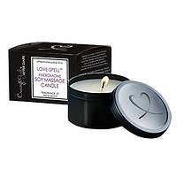 Массажная свеча с феромонами Crazy Girl After Dark Potion 16 Massage Candle Pheromone Black Orchid 170 gr