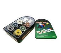 Покер набор на 120 фишек, покер