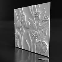 """Гипсовые 3D панели """"Azaleas"""""""