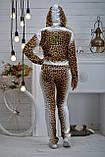 """Жіночий велюровий турецький костюм """"BEZLO""""; розм 42,44,46,48, фото 3"""