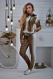 """Жіночий велюровий турецький костюм """"BEZLO""""; розм 42,44,46,48, фото 4"""