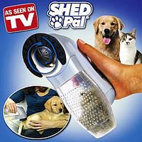 Shed Pal - электронная расческа для животных, щетка для животных, устройство для вычесывания питомца - Шед Пал