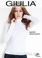 Женская белая водолазка Lupetto manica lunga Giulia bianco L/XL