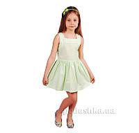 127166664 Платье Kids Couture 15-317 в Салатовый Горох 34 (Р-128, ОГ-64, ОТ-56 ...