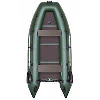 Надувная килевая моторная лодка (с алюм. пайолом) Профи KDB КМ-330Д / 64-387