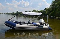 Надувная килевая моторная лодка (БЕЗ ПАЙОЛА) Профи KDB КМ-360Д / 87-126, фото 1
