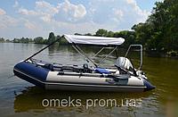 Надувная килевая моторная лодка (с фанерным пайолом) Профи KDB КМ-360Д / 01-408