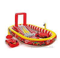 Игровой центр-бассейн Тачки Intex 57134